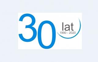 30 lat z tłem
